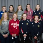 EE 10/10/2016 SPORT - Coach Michelle McNally pictured with the Schoolgirls U16 team, cup runners up at the recent Lakewood AFC Awards Night in the Oriel House Hotel, Ballincollig. Picture: Howard Crowdy