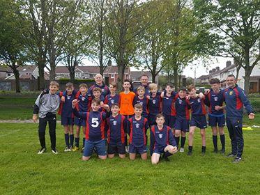 U13s secure promotion v Kilreen