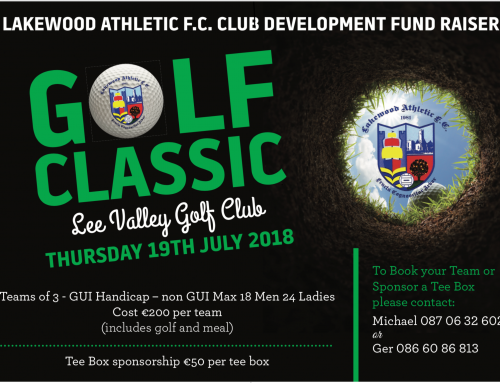 Golf Classic in aid of Development fund July 19th
