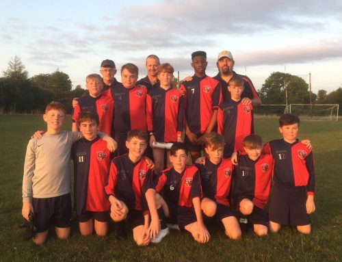 Brave Performance from U14s in Cup