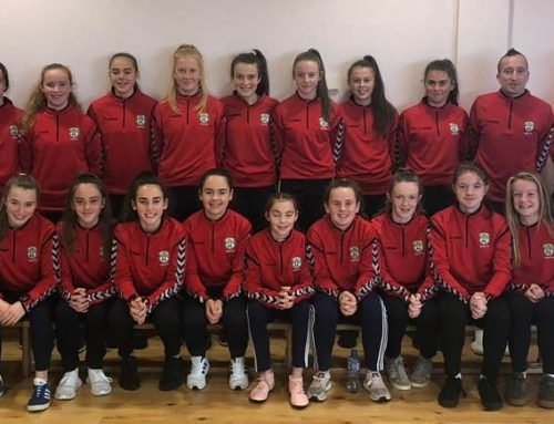 Two Lakewood girls, in Munster Squad