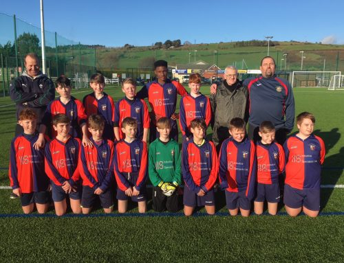 U14s Unlucky in Bandon